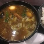 カレーハウス CoCo壱番屋 - 料理写真:ローストチキンスープカレー948円