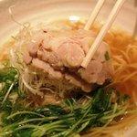 龍旗信 - 鶏塩ラーメン 900円