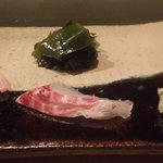 寿司処 黒杉 - 鯛
