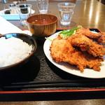 釜半 - 若鶏の唐揚げ定食