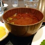 釜半 - 味噌汁