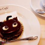 シャノワール - 可愛い黒猫のケーキ。