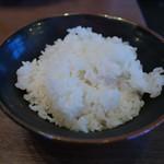 横浜家系ラーメン 太田商店 - ライス