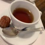 カンティーヌ アリ・バブ - ミニランチセット 食後の飲み物