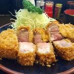 とんかつ 力亭 - 料理写真:大ロースカツ定食  2,080円