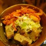 つけ麺 井手 - 炙り豚丼