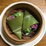さとうきび - ゴーヤと紫芋の皮