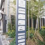 鮨 さかい - お店は中洲川端駅から歩いて10分弱。
