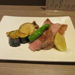 和心蕎花 - 「氷室豚の低温ロースト」