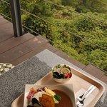 open cafe 遠見茶屋 - ランチの野菜カレー