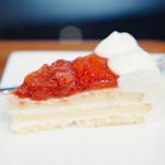 伊吹山珈琲店 - ケーキセットいちご