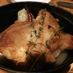 ルイージ - 伊達産鶏もも肉と季節のキャベツのSTAUB煮