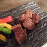 お好み&鉄板焼 紅 - 宮崎牛イチボステーキ