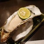 我我 - 大きな生牡蠣!