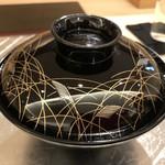 鮨 そえ島 - 博多雑煮・・素敵な塗り椀