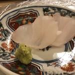 鮨 そえ島 - *「あら」は上品な脂がのり食感もよく美味しい。