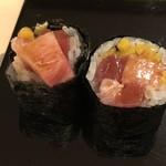 鮨 そえ島 - トロタク・・トロタップリでとても美味しい。