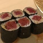鮨 そえ島 - 追加で ◆鉄火巻・・鮪タップリで美味しい品。
