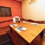 野菜酒場 天ぷら白金 - 個室お座敷