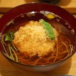 東白庵かりべ - 天ぷら蕎麦