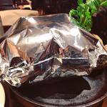 99547788 - 百年洋食ハンバーグステーキ!   パンパンが楽しい❤️