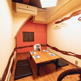 完全個室あり/2階席の貸切対応