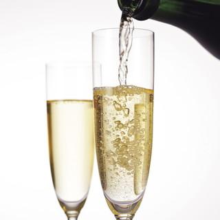 スパークリングワインがとてもお得!