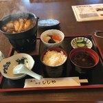 ししや - 猪鍋定食1800円