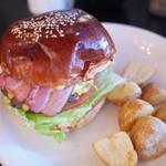 ザ グレートバーガー - 料理写真:ザ グレート和牛ベーコンチーズバーガー