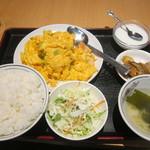 福臨門 - エビと玉子炒め