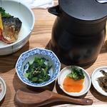 和だし茶漬け 一休 - 炙りサバとベーコンの洋茶漬け お出汁が年末年始の胃に優しくてほっとしました。