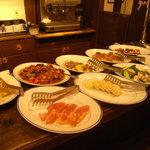 デルフィーノ - Antipasti del giorno 本日の前菜