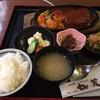 すき焼 加茂川 - 料理写真:煮込みハンバーグ定食