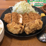 とんから亭 - 料理写真:トンから定食A