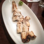 銀蕎麦 國定 - 穴子の白焼き