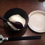 銀蕎麦 國定 - 手打ち寄せ豆腐