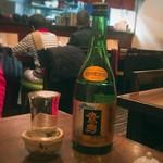 銀蕎麦 國定 -  鷹勇 純米吟醸 「なかだれ」