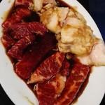 焼肉牛ちゃん - お肉いろいろ
