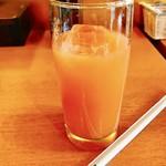 バーンスキタイ - ドリンク写真:サービスのマンゴージュース‼︎