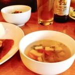 バーンスキタイ - 料理写真:スープでほっこり‼︎