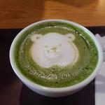 ベーカリー&カフェ 古子路 - ドリンク写真:抹茶ラテ