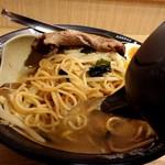 東横 - 割りスープで自分好みのスープへ(^O^)/