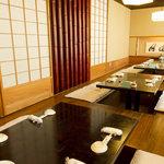 よし寿司 - 和の個室をご利用人数に応じてご用意ございます♪