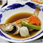 鹿野温泉 国民宿舎 山紫苑 - 料理写真:この日の煮付けはのどぐろ!