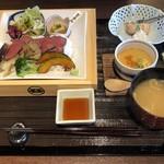 居・食・亭 東忠 - 料理写真:里山からの贈り物〜和(なごみ)膳〜