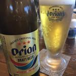 くるまえびキッチンTAMAYA - オリオンビール