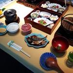 宙 渡月荘金龍 - 料理写真:宙の朝ご飯