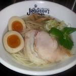 らーめんstyle JUNK STORY - 料理写真:【(限定) 鯛塩そば + 半熟味玉】¥1000 + ¥120