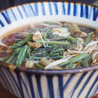 玉乃屋 - 料理写真:山菜そば