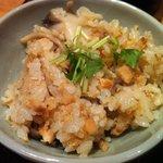 hibari - 鮭ときのこの炊き込みご飯(ランチ)